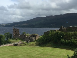 Photo of the ruins of Urquhart Castle (2016)