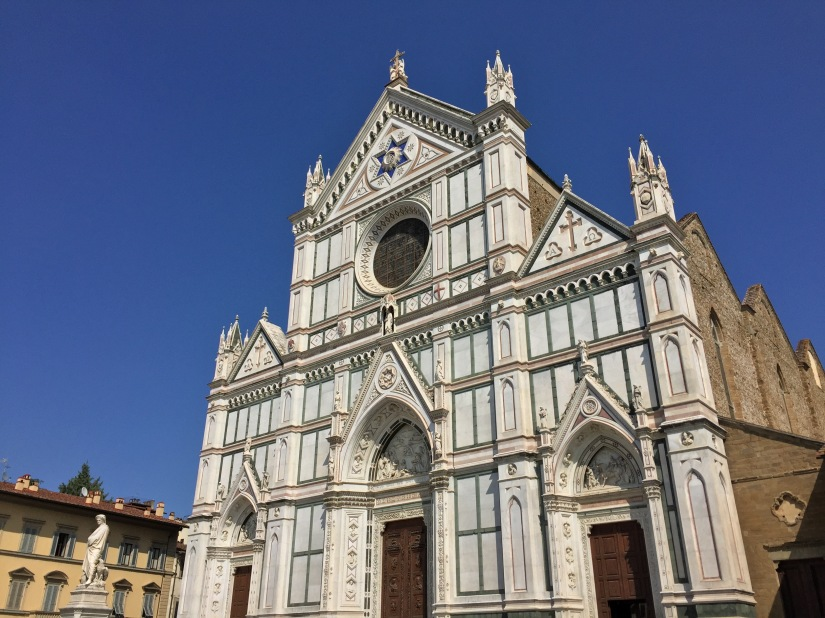 Santa Croce in Florence – A Magnificent Basilica and Resting Place