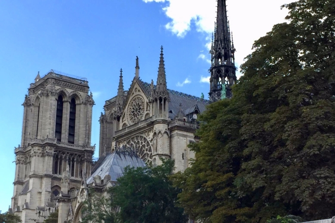 Notre-Dame de Paris (another view, 2017)